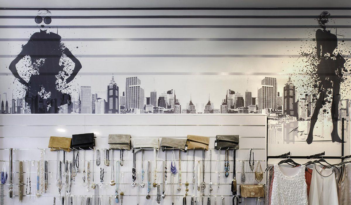 עיצוב חנות בגדי נשים